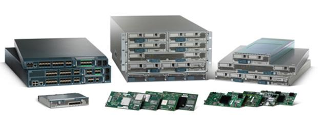 Блейд-серверы Cisco UCS B-Series.