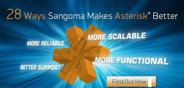 28 инноваций Sangoma делают Asterisk® еще лучше