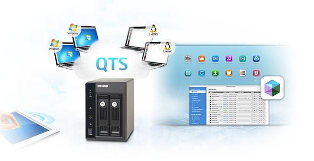 Qnap Nas серии Home - Совместный доступ к файлам с различных платформ, централизованное хранилище данных и многое другое