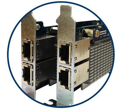 Поддержка интерфейсов 10GbE  на NAS SMB серии