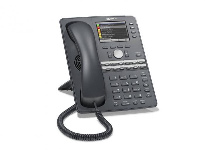 бизнес-телефоны snom 760 для предприятий малого и среднего бизнеса