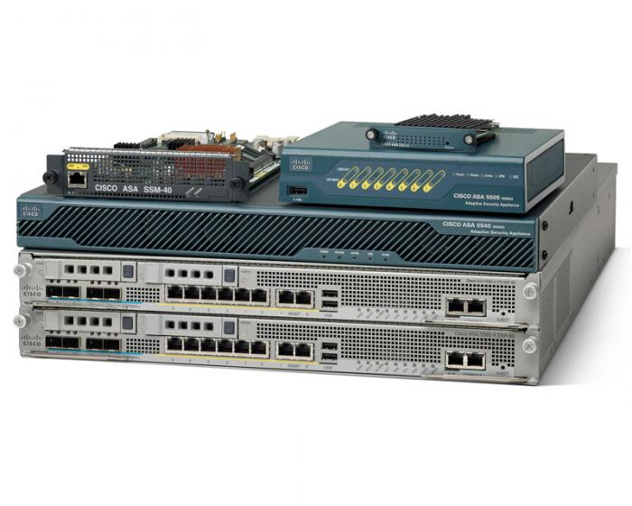 Платформа. Cisco ASA 5500 series