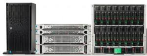 Серверы  линейк HP ProLiant Gen9
