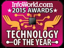 InfoWorld 2015 AWARDS TECHNOLOGY JF THE YEAR
