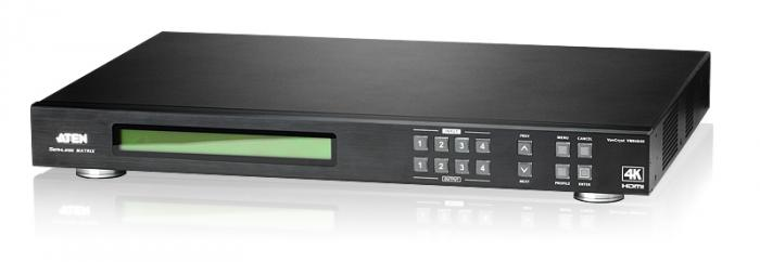 4 x 4 4K HDMI Matrix Switch with Scaler VM6404H