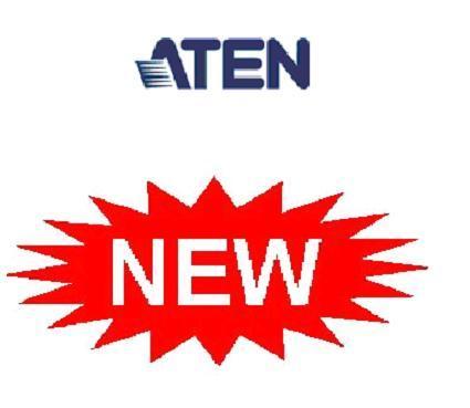 Новейшие Матричные Коммутаторы, IP KVM Переключатели 4 поколения, обновленные Audio/Video и KVM ATEN