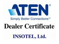 Инсотел - сертифицированный дилер ATEN с 2011 года