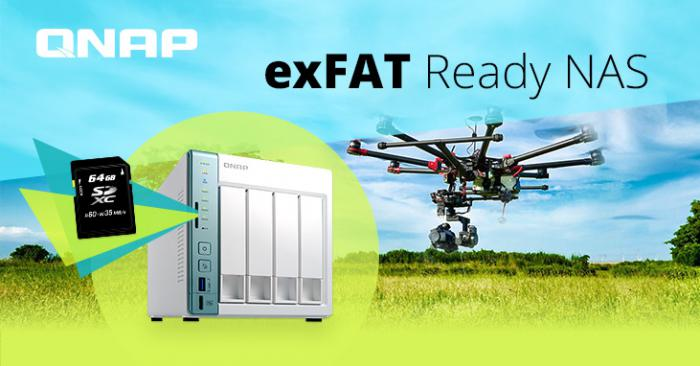 NAP, Microsoft и Paragon Software выпустили exFAT драйвер для QNAP NAS