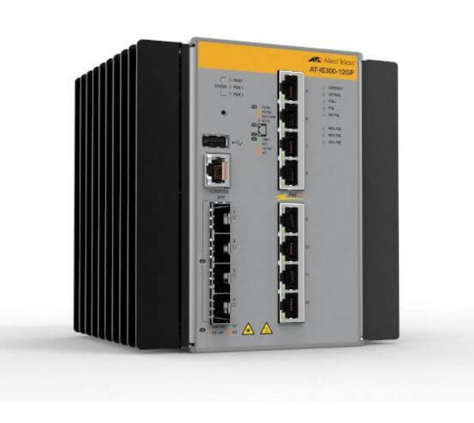 Новые Gigabit Industrial Ethernet коммутаторы Allied Telesis IE300 для промышленных приложений IoT