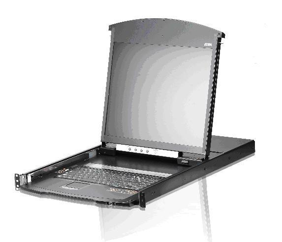 KVM Переключатели ATEN KL1108VN/KL1116VN с ЖК-дисплеем, доступом по IP и Virtual Media