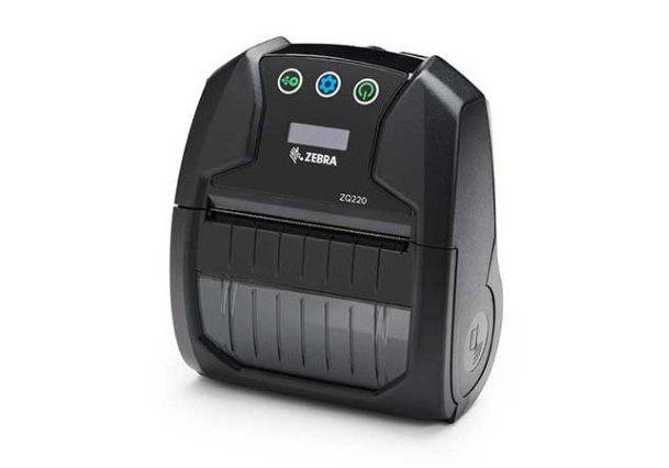 Недорогой мобильный принтер ZQ220 может печатать любые квитанции и этикетки как с подложкой, так и без нее