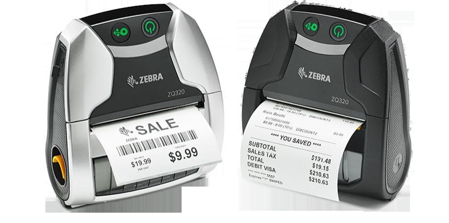 Мобильные принтеры Zebra ZQ320