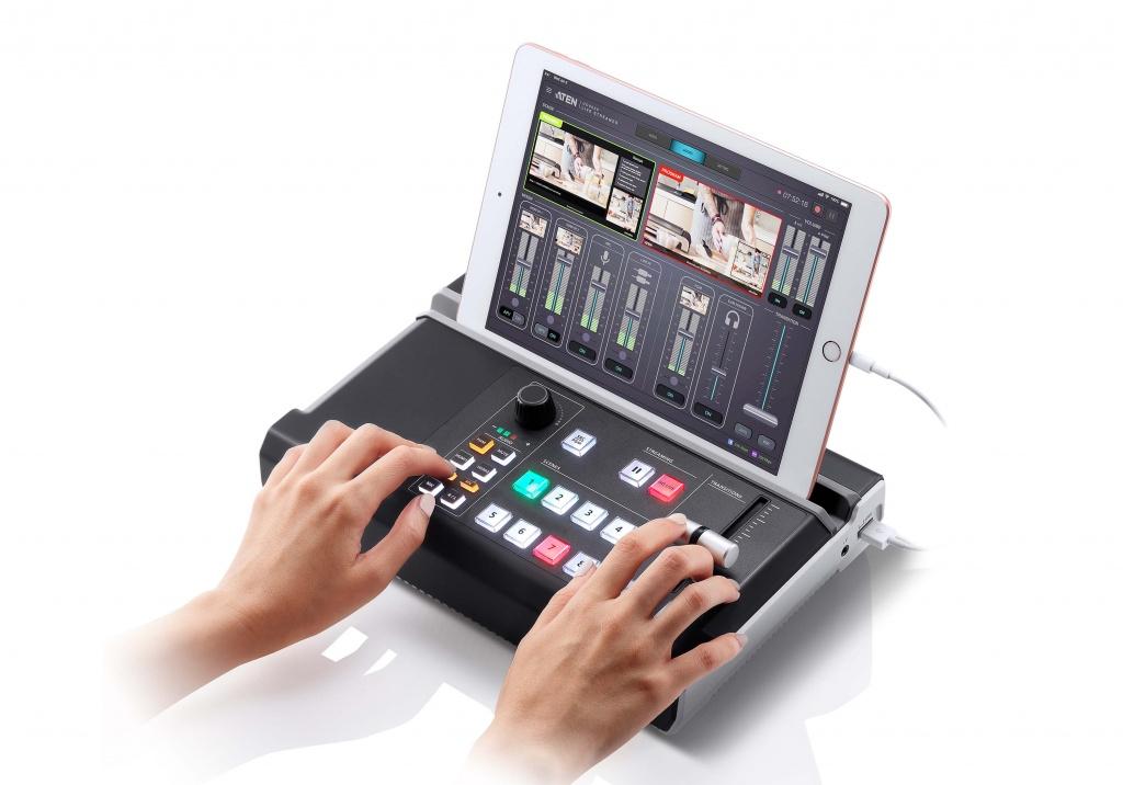 Многофункциональный AV Mixer UC9020 ATEN для трансляции живого видео