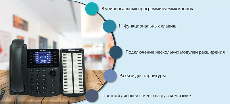 IP Телефоны D-Link DPH-150S и DPH-150SE для бизнеса
