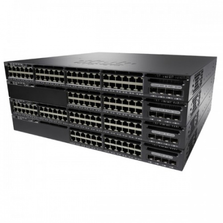 коммутатор cisco, catalyst 3650 | ws-c3650-48pq-l